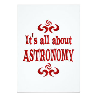 ALL ABOUT ASTRONOMY CUSTOM INVITE