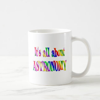 All About Astronomy Coffee Mug