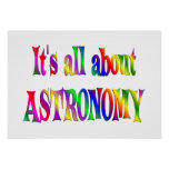 All About Astronomy Print