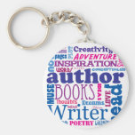 All About Authors! Keychains