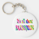 All About Barbequing Keychains