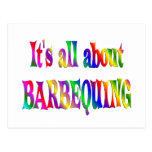 All About Barbequing Postcards