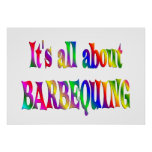 All About Barbequing Posters