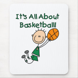 All About Basketball Mouse Pad