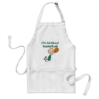 All About Basketball Tshirts and Gifts Adult Apron