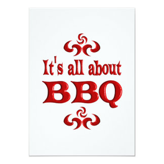 ALL ABOUT BBQ CARD