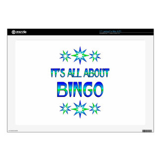 All About Bingo Laptop Decals