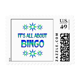 All About Bingo Stamp
