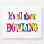 All About Bowling Mouse Pad