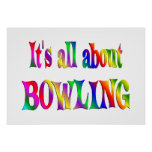 All About Bowling Poster