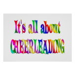 All About Cheerleading Print