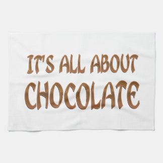 All About Chocolate Kitchen Towels