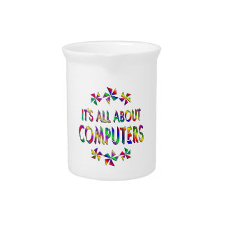 All About Computers Beverage Pitchers