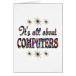 ALL ABOUT COMPUTERS GREETING CARDS