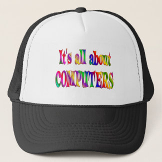 All About Computers Trucker Hat