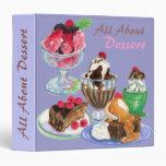 All About Dessert - binder