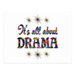 ALL ABOUT DRAMA POSTCARD