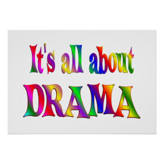 All About Drama Poster
