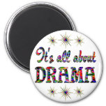 ALL ABOUT DRAMA REFRIGERATOR MAGNETS