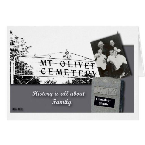 All About Family Card