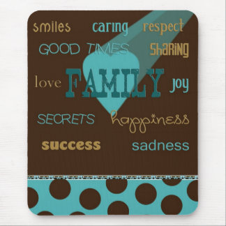All About Family Mouse Pad