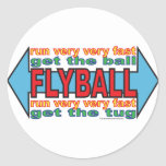All about Flyball Stickers