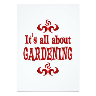ALL ABOUT GARDENING CARD