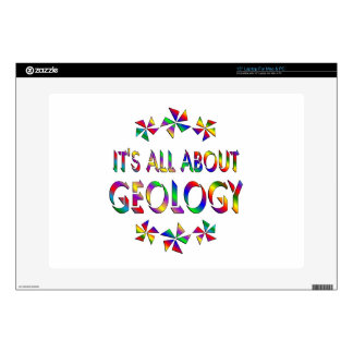 """All About Geology Decals For 15"""" Laptops"""