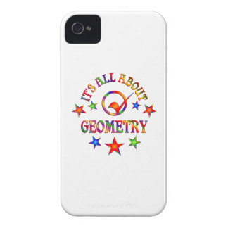 All About Geometry iPhone 4 Cover