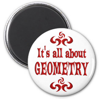 ALL ABOUT GEOMETRY 2 INCH ROUND MAGNET