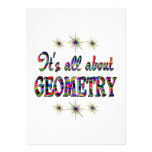 ALL ABOUT GEOMETRY PERSONALIZED ANNOUNCEMENTS