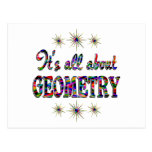 ALL ABOUT GEOMETRY POST CARD