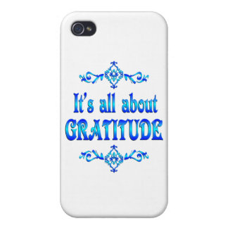 All About Gratitude Cases For iPhone 4