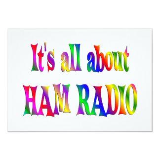 All About Ham Radio Card