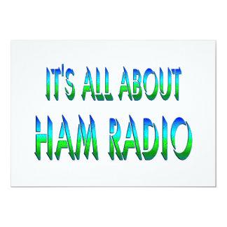 All About Ham Radio Custom Invite
