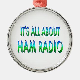 All About Ham Radio Ornament