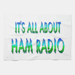 All About Ham Radio Towels