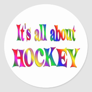 All About Hockey Stickers