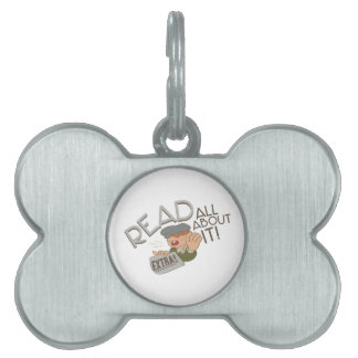 All About It Pet Name Tag