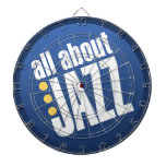 All About Jazz Dart Board