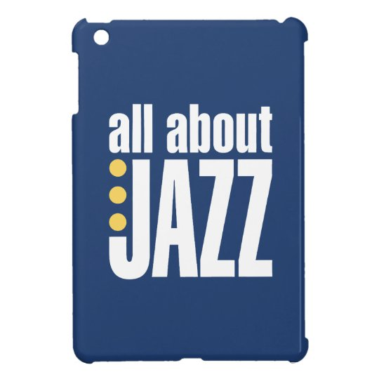 All About Jazz iPad Case