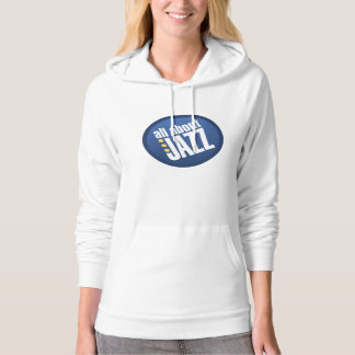All About Jazz Ladies Fleece Pullover Hoodie