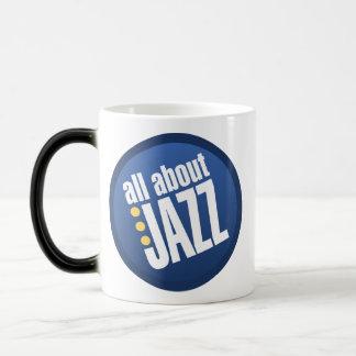 All About Jazz Magic Mug