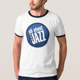 All About Jazz Vintage Inspired Ringer Tee