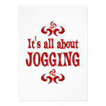 ALL ABOUT JOGGING INVITATIONS