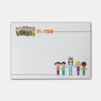 All About Kids School Nurse Post-it Notes Post-it® Notes