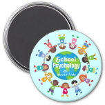 All About Kids School Psychology Magnet Fridge Magnets