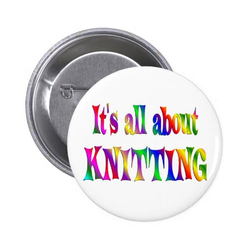 All About Knitting 2 Inch Round Button