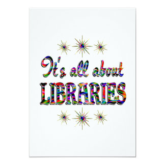 ALL ABOUT LIBRARIES CUSTOM ANNOUNCEMENT