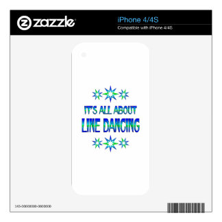 All About Line Dancing iPhone 4S Decal